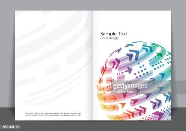ilustrações de stock, clip art, desenhos animados e ícones de cover design - cobre