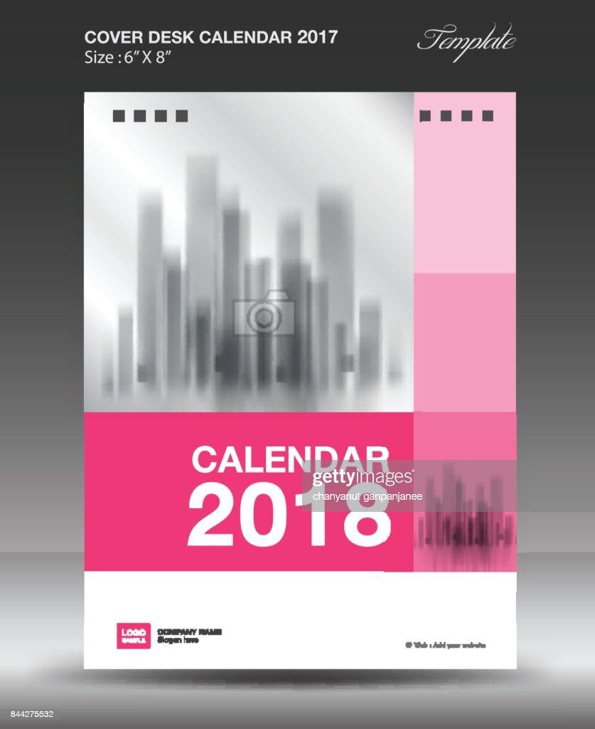 Decken Schreibtisch 2018 Jahr Kalendervorlage Größe 6 X 8 Zoll ...