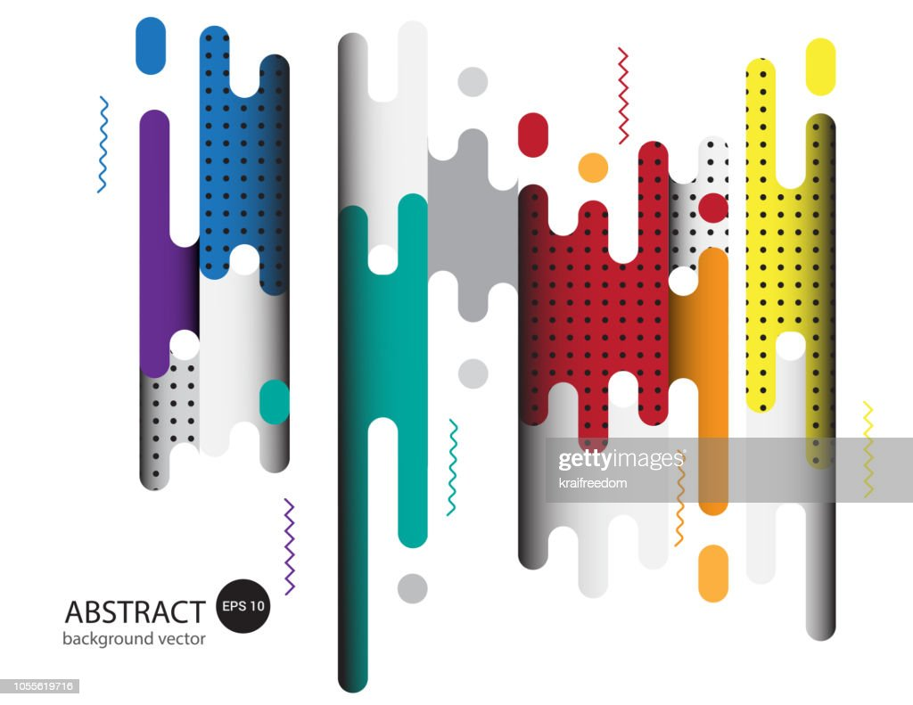 Covers with flat geometric pattern Background.Vector illustration.
