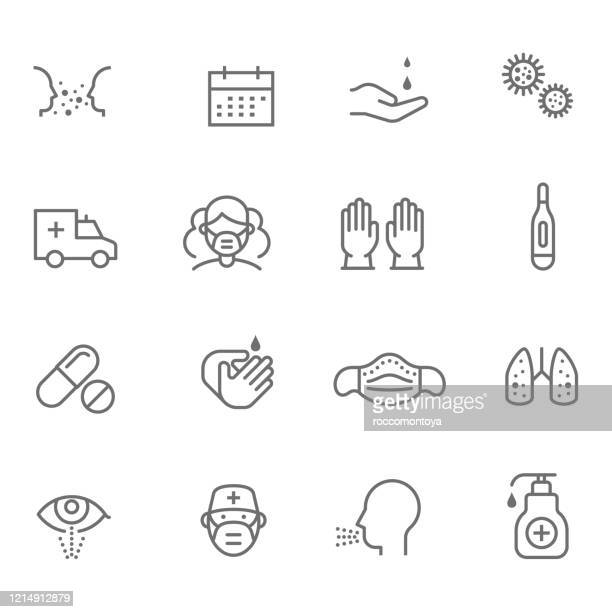 covid-19 - mundschutz stock-grafiken, -clipart, -cartoons und -symbole