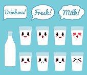 Cow milk character