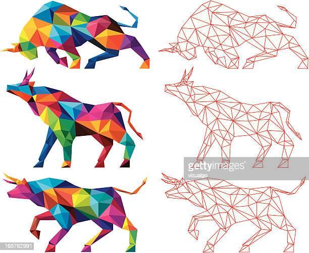 牝牛 - 雄牛点のイラスト素材/クリップアート素材/マンガ素材/アイコン素材