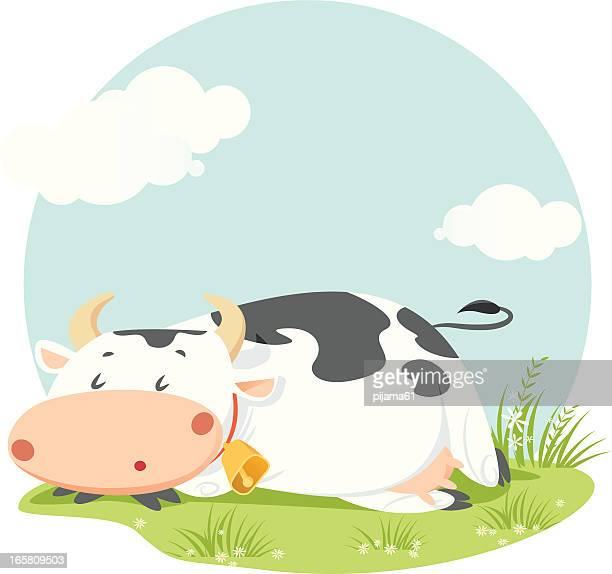ilustraciones, imágenes clip art, dibujos animados e iconos de stock de vaca - vacas