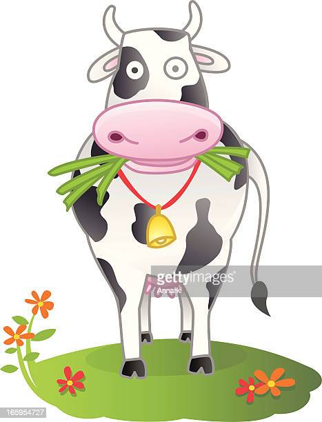 cow - milking stock illustrations, clip art, cartoons, & icons