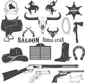Cowboy design elements