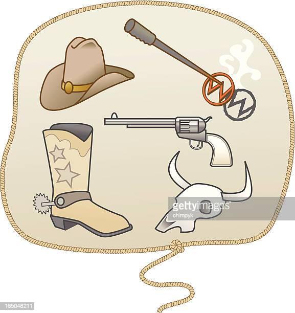 Cowboy-Elemente