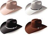 Cowboy hat set eps8