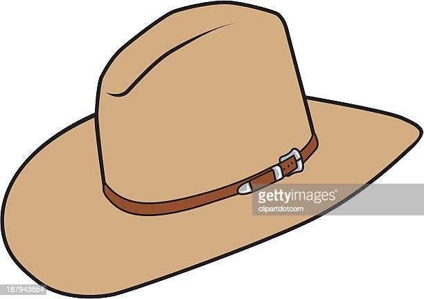 cowboy hat - cowboy hat stock illustrations, clip art, cartoons, & icons