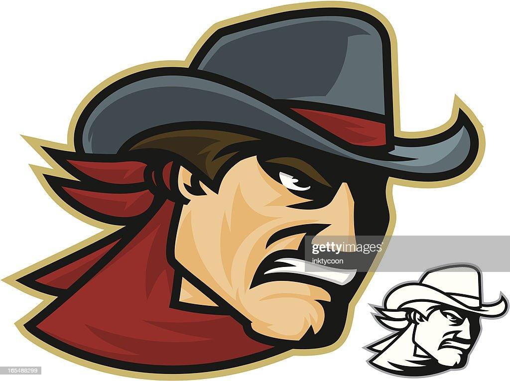 Cowboy Wrangler : stock illustration