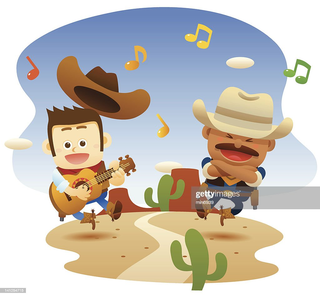 cowboys are singing and dancing