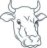 Cartoon Cow Stock Vector - FreeImages com