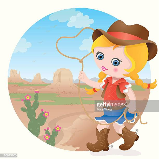 Cowgirl at Monument Valley