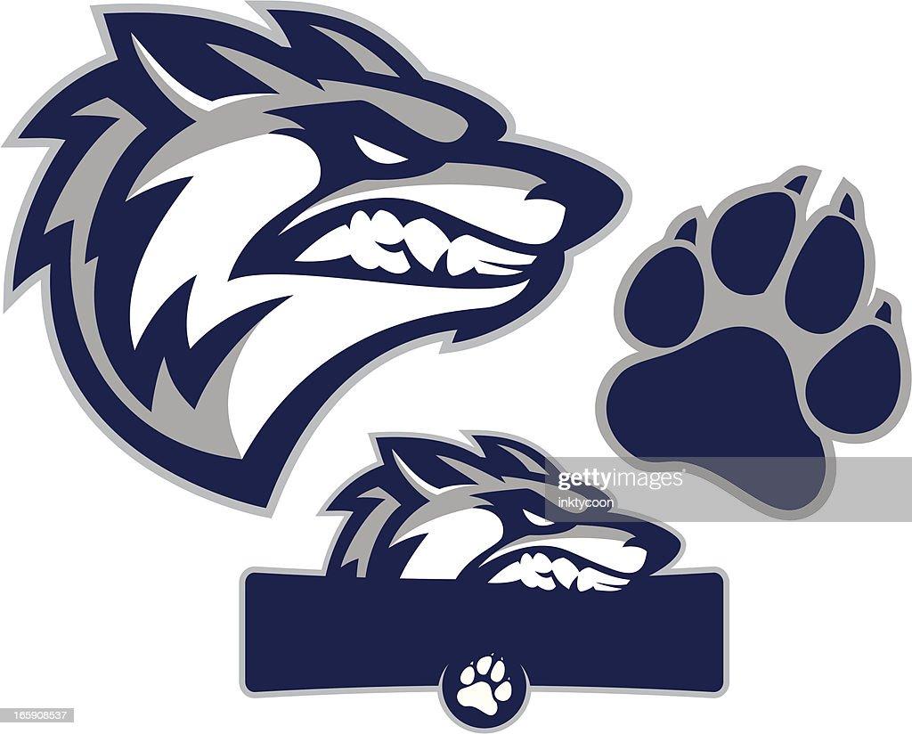 Coyote Mascot Pack