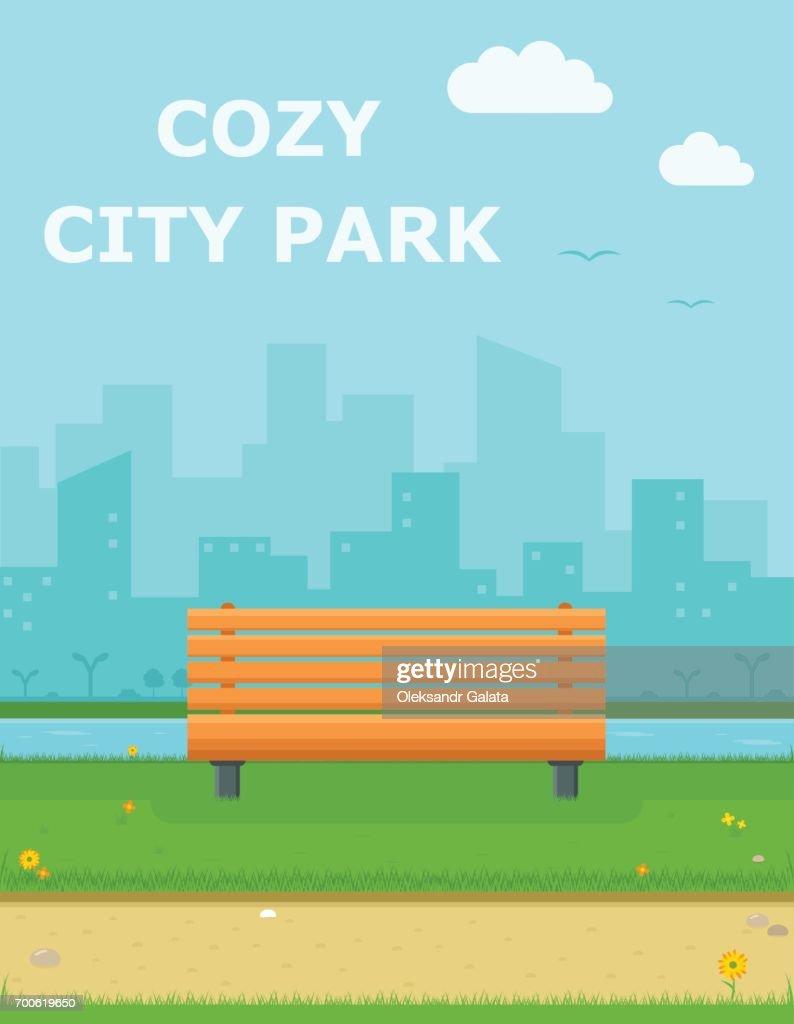 cozy city park