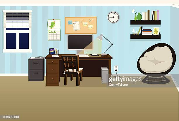 cozy office - card file stock illustrations, clip art, cartoons, & icons