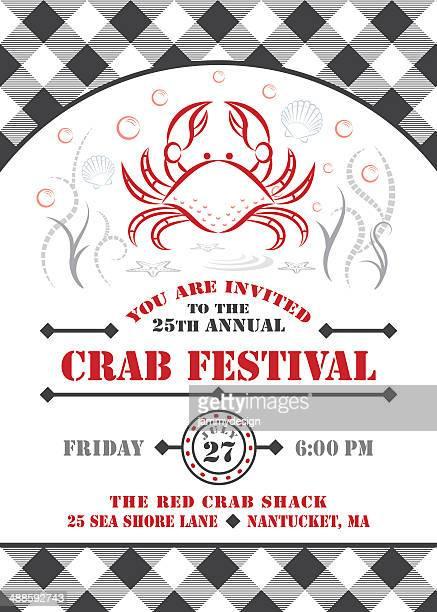 Crab Fest Invitation