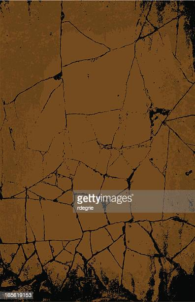 cracked stone - marble rock stock illustrations, clip art, cartoons, & icons