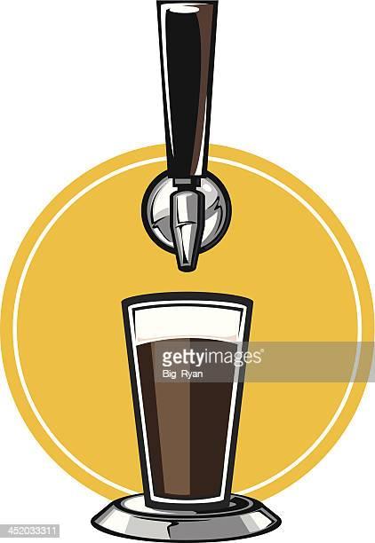 クラフトビールタップ - ビールサーバー点のイラスト素材/クリップアート素材/マンガ素材/アイコン素材