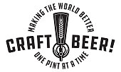 Craft Beer Vector Design