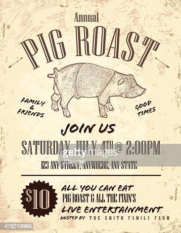 pig roast invitation ideas pig roast invitation template free pig