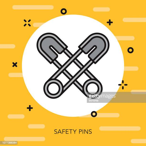 Craft Supplies Thin Line Icon