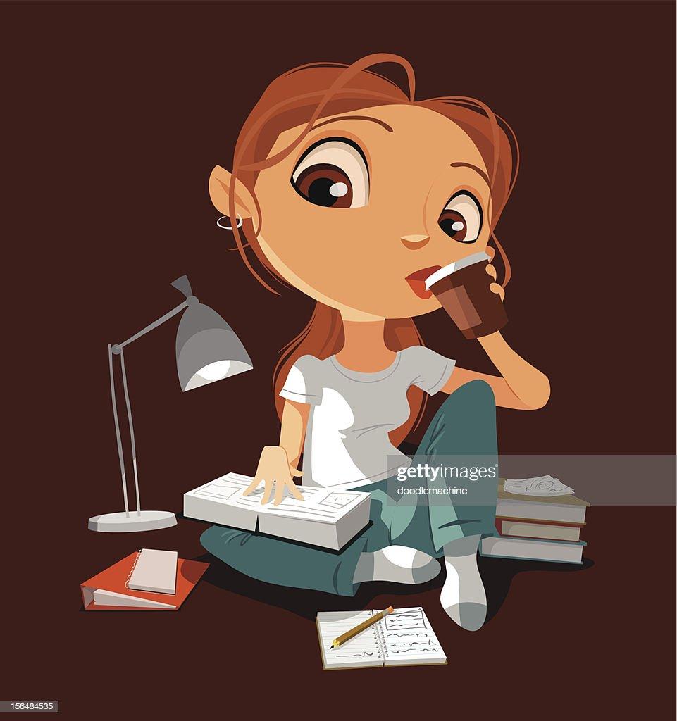 Cramming : stock illustration