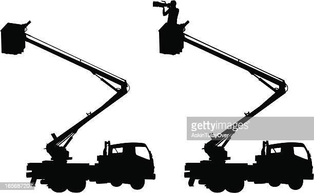 Crane and Photographer