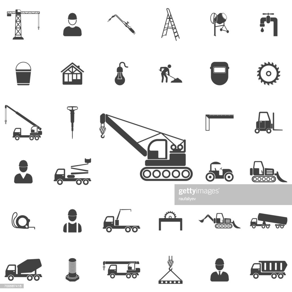 Crane icon.