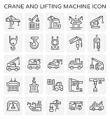 crane lift icon