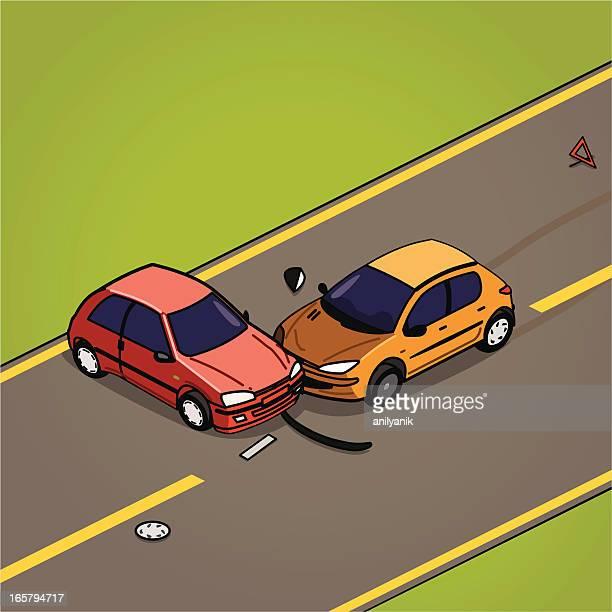 ilustrações, clipart, desenhos animados e ícones de colisão - skidding