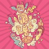 Crazy totem