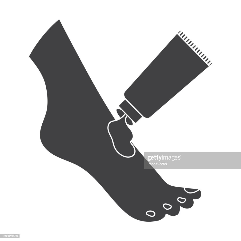 Cream for feet icon in black style isolated on white background skin cream for feet icon in black style isolated on white background skin care symbol stock biocorpaavc Gallery