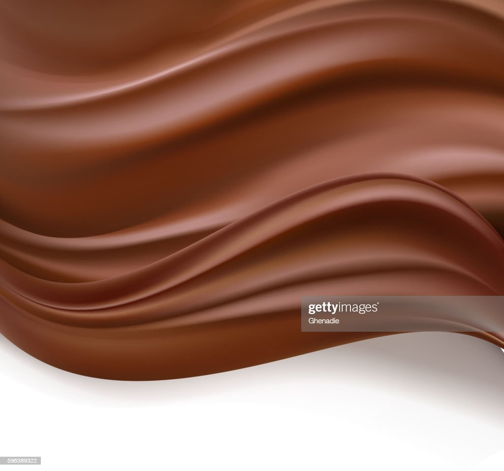 creamy chocolate background