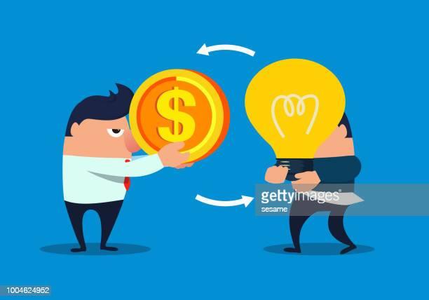 Creative and money exchange