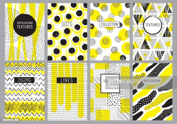 creative backgrounds templates - yellow stock illustrations