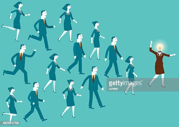 D'affaires créative/New Business Concept Leader