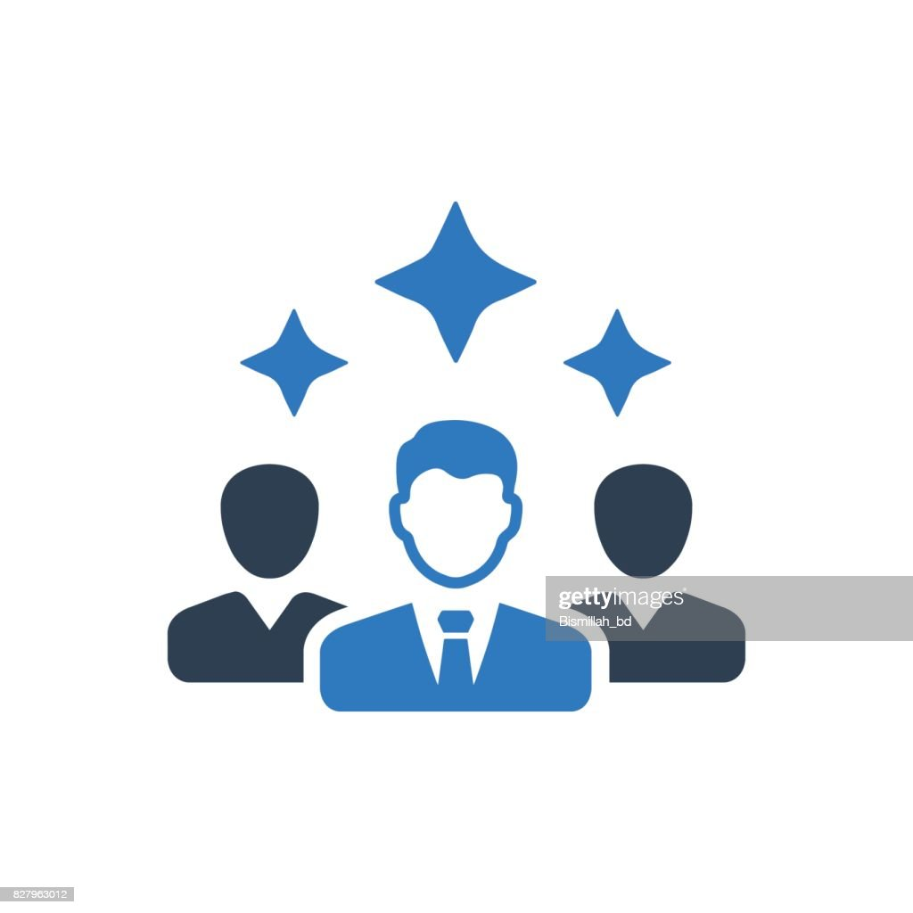 Creative Business Team Icon