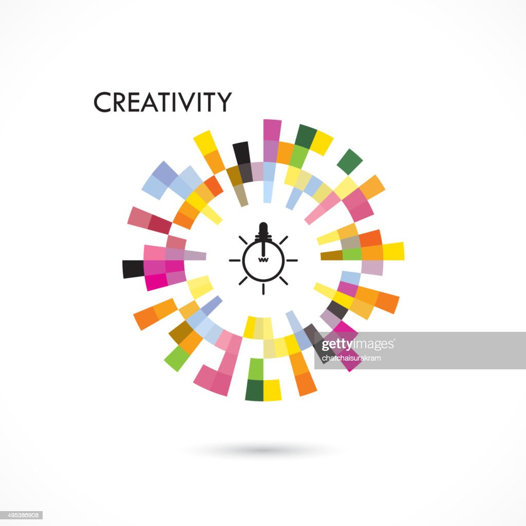 Creative circle abstract vector design