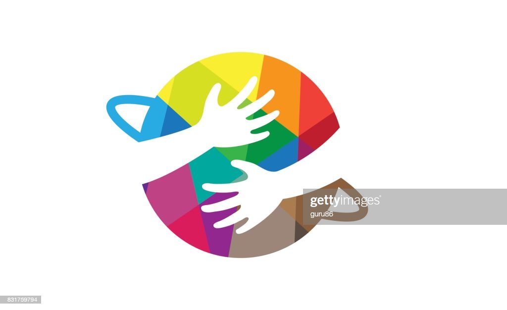 Creative Colorful Planet Kids Interest Shape Symbol Design