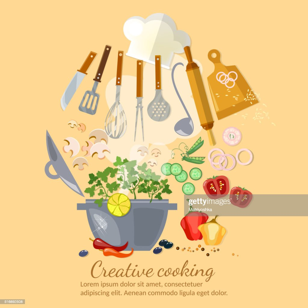 Creative cooking collection cookbook