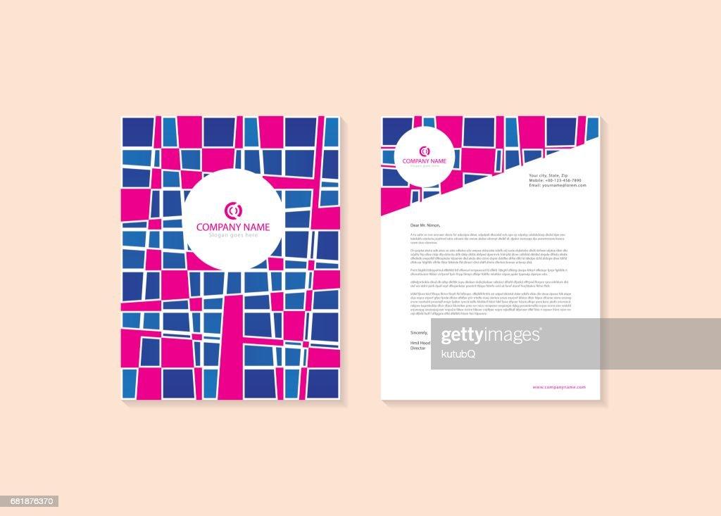 Creative Corporate Letterhead Design Vector Art