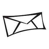 Creative Envelope Icon