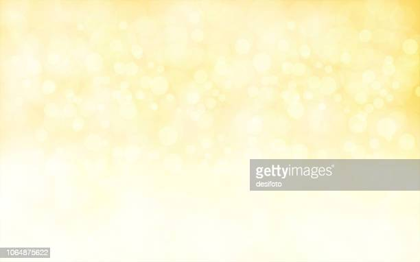 a creative glittery golden xmas background. vector illustration - yellow stock illustrations