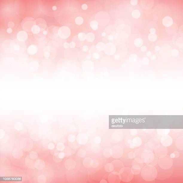 a creative glittery light pink background. merry christmas vector illustration - pink colour stock illustrations