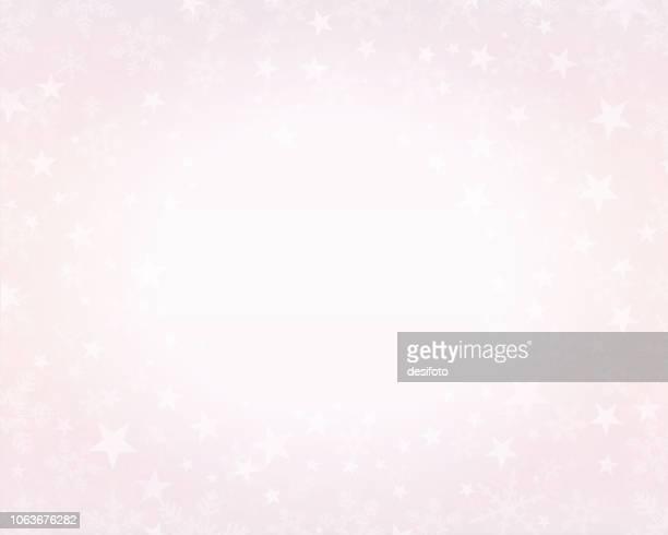 創造的なキラキラ ピンクのクリスマス背景が点灯。ベクトル イラスト - 薄ピンク点のイラスト素材/クリップアート素材/マンガ素材/アイコン素材