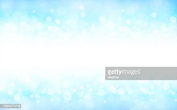 a creative glittery sky blue background. vector illustration - celebration stock illustrations