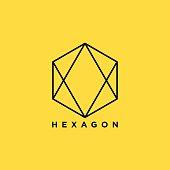 Creative Hexagon Symbol illustration