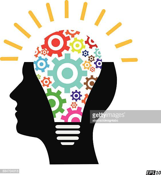 creative idea or thinker - {{asset.href}} stock illustrations