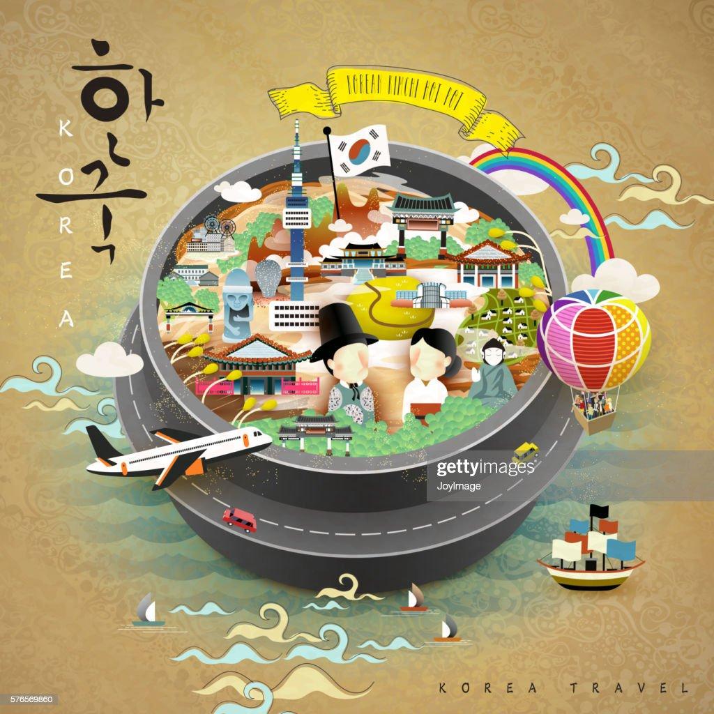 creative Korea poster