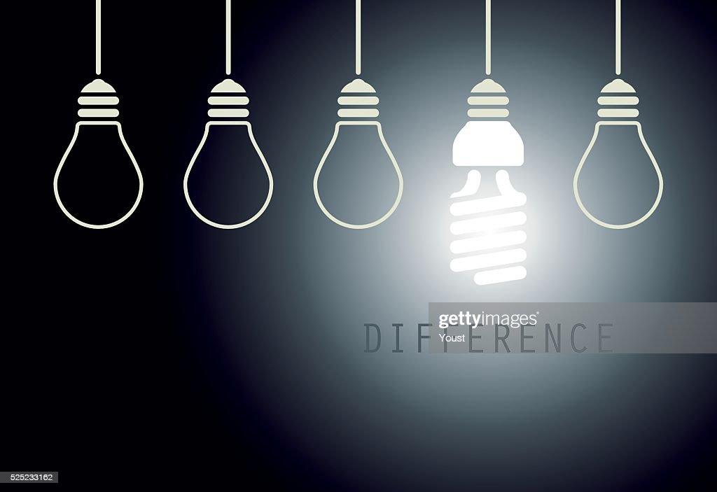 Creative Light Bulb Idea